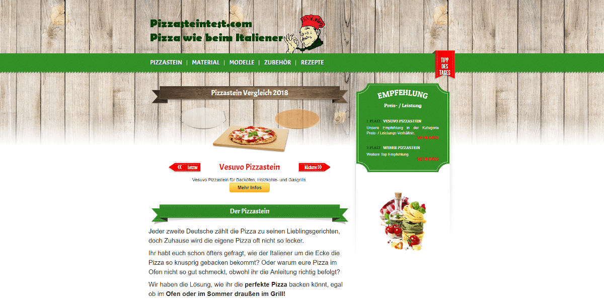 Webseite - Webdesign