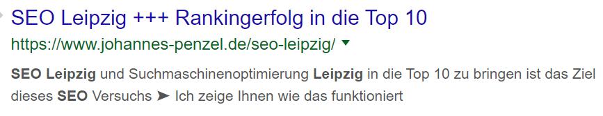 SEO Leipzig Meta Beschreibung